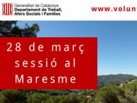 Imatge de la notícia  28 de març sessió territorial de la DGACC a Mataró (Maresme)