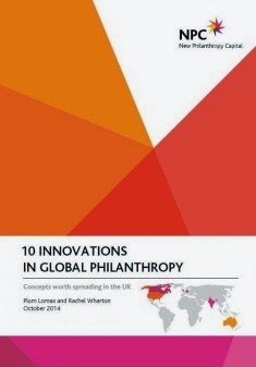 Portada de 10 innovations in global philanthropy