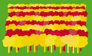 Logotip de la campanya #1català1arbre