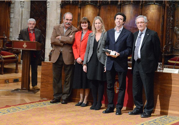 Projecte Home received the Volunteering Prize 2014.