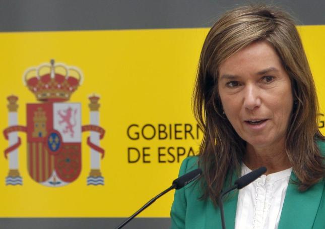 Foto de la Ministra de Sanitat