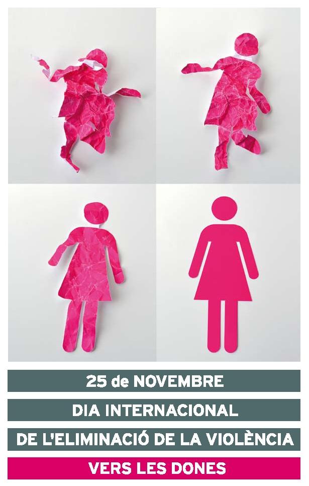 El proper 25 de novembre, en commemoració del Dia Internacional per l'eliminació de la violència vers les dones, tindrà lloc una performance
