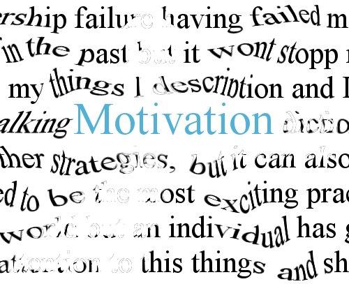 Motivation. Font: photosteve101 (Flickr) Font:
