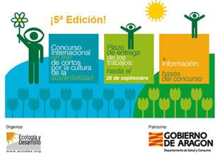 5è Concurs Internacional online de curts per la cultura de la sostenibilitat.