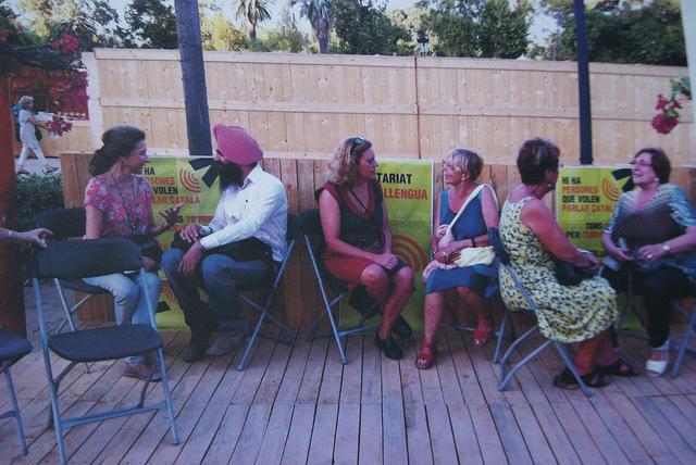 Voluntariat per la llengua - Font: Teresa Grau Ros