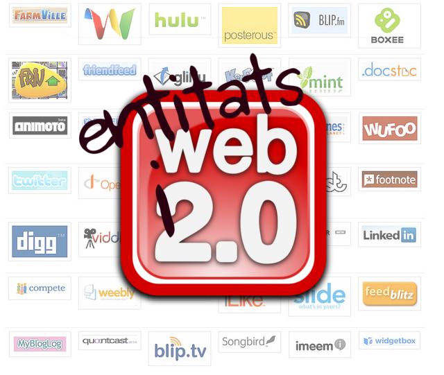 Eines i web 2.0 per entitats  Font: