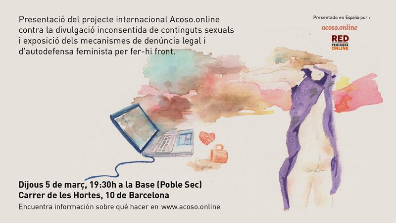 Acoso.online és un lloc web orientat a víctimes de pornografia no consentida Font: Acoso.online