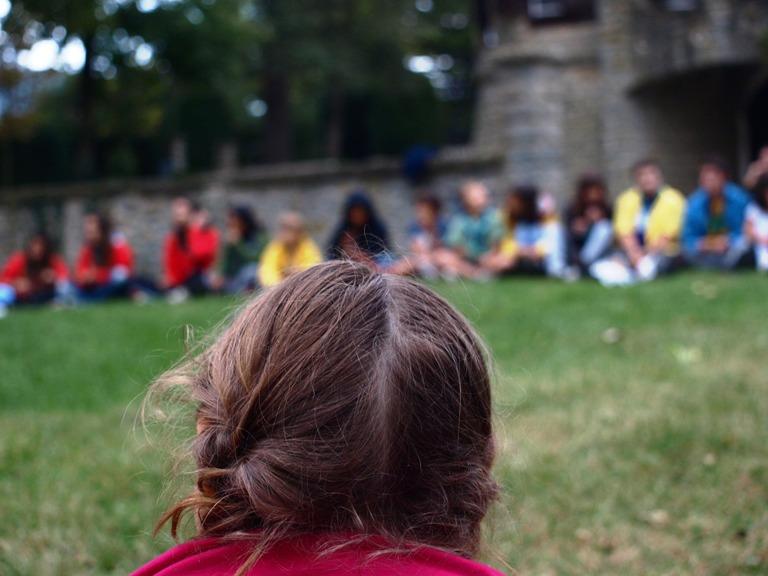 Activitat d'un agrupament escolta. Foto: Minyons Escoltes i Guies de Catalunya
