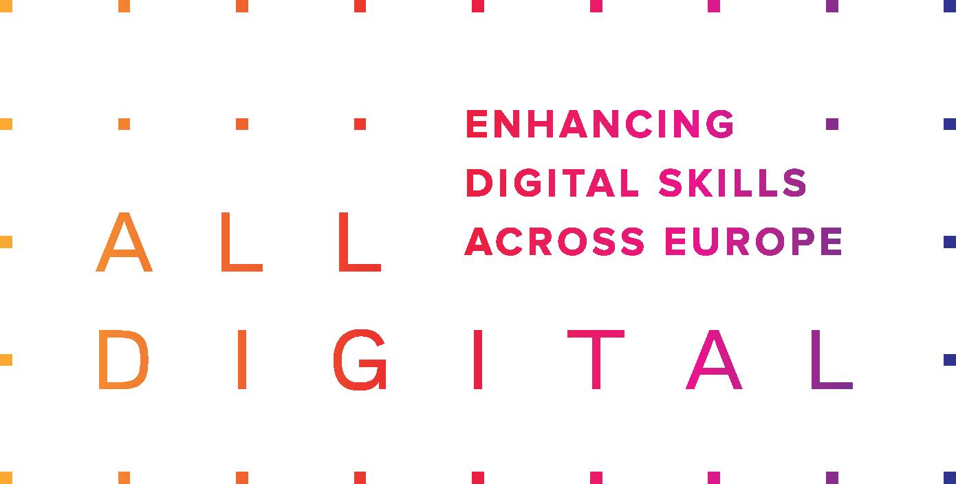 """""""la Mejora de las habilidades digitales a través de d'Europa"""";"""