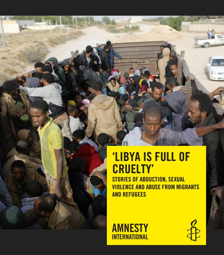 Portada de Libya is full of cruelty: stories of abductions, sexual violence and abductions from migrants and refugees
