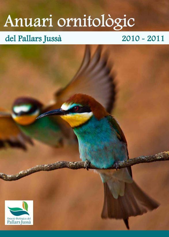 Portada de Anuari ornitològic del Pallars Jussà 2010-2011
