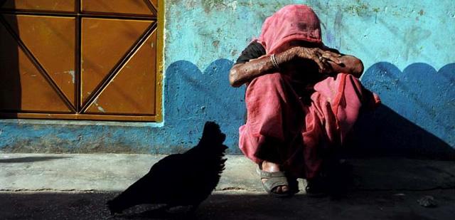 Imatge d'un apàtrida. Font: ACNUR