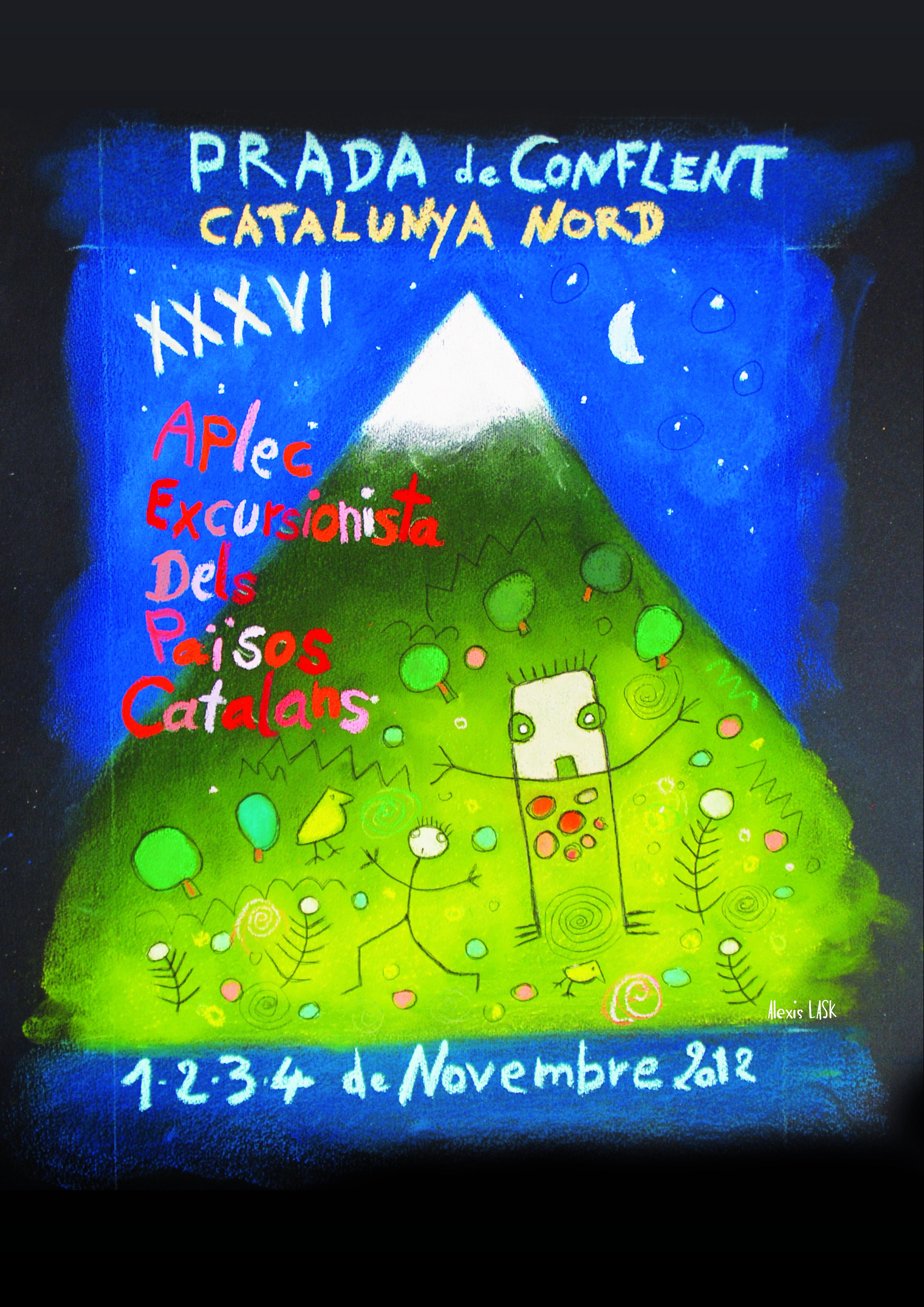 El cartell de la trobada del 2012