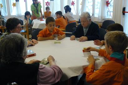Experiència d'ApS de l'AEiG Sant Sadurní. Foto: AEiG Sant Sadurní