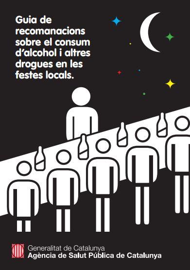 Portada de Guia de recomanacions sobre el consum d'alcohol i altres drogues en les festes locals