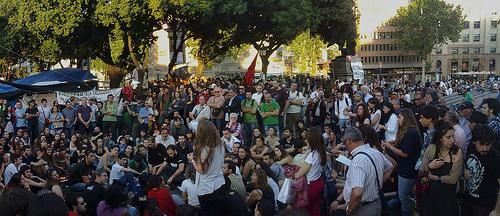 Assembly Pl. Catalunya 15M - Barcelona