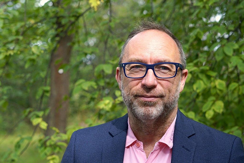Jimmy Wales és el creador de WT Social. Fotografia de Zachary McCune/Wikimedia Foundation. Llicència d'ús CC BY-SA 4.0 Font: Zachary McCune/Wikimedia Foundation. Llicència d'ús CC BY-SA 4.0