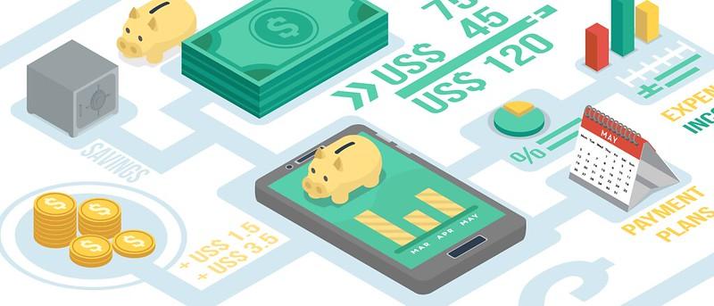 El Fintech simbolitza l'ús de les noves tecnologies en el món de les finances.  Imatge de Tech in Asia. Llicència de CC BY 2.0 Font:  Tech in Asia. Llicència de CC BY 2.0