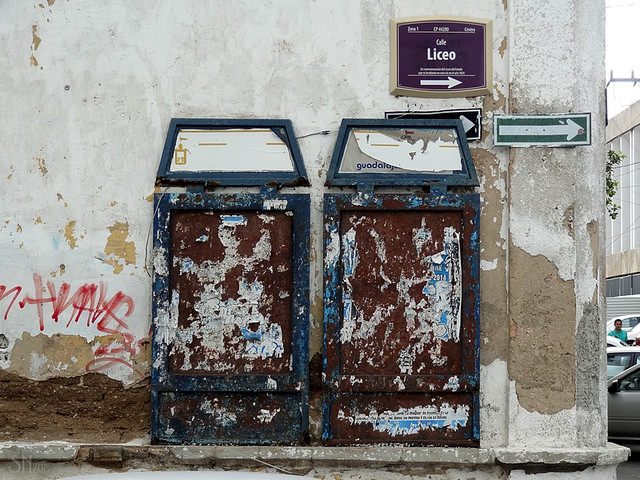 Imatge d'una cartellera buida. Imatge de Jose Enrique. Llicència d'ús CC BY NC ND 2.0 Font: Jose Enrique. Llicència d'ús CC BY NC ND 2.0