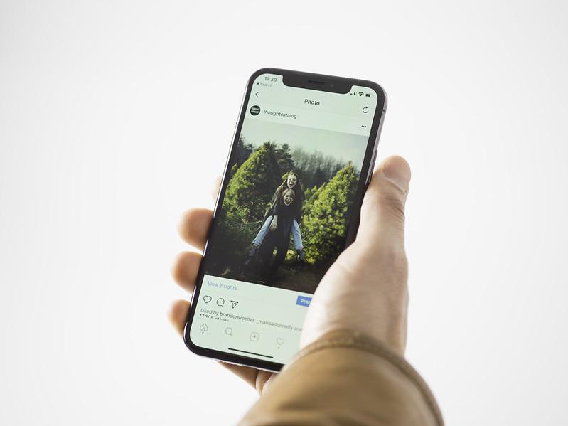 Instagram és una de les xarxes socials més utilitzades. Imatge de Stock Catalog. Llicència d'ús CC BY 2.0  Font: Stock Catalog. Llicència d'ús CC BY 2.0