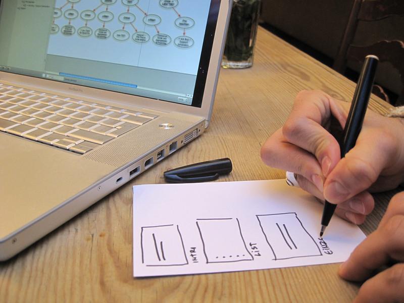 Les plantilles poden semblar difícils de fer, però en realitat és un procés senzill. Imatge de visualpun.ch. Llicència d'ús CC BY-SA 2.0 Font: Imatge de visualpun.ch. Llicència d'ús CC BY-SA 2.0