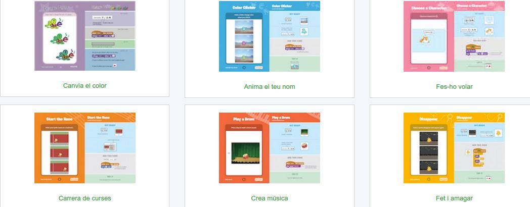 la Captura de pantalla de la página web de Código de Club