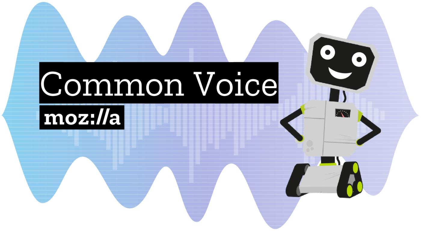 El projecte Common Voice necessita persones voluntàries que parlin català. Imatge de Mozilla Foundation.  Font: Imatge de Mozilla Foundation.