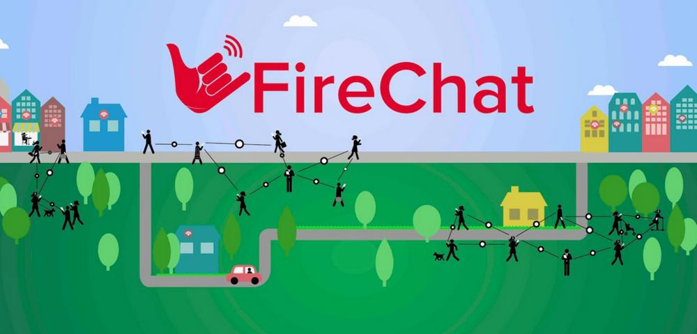 Imagen de l'la aplicación Firechat