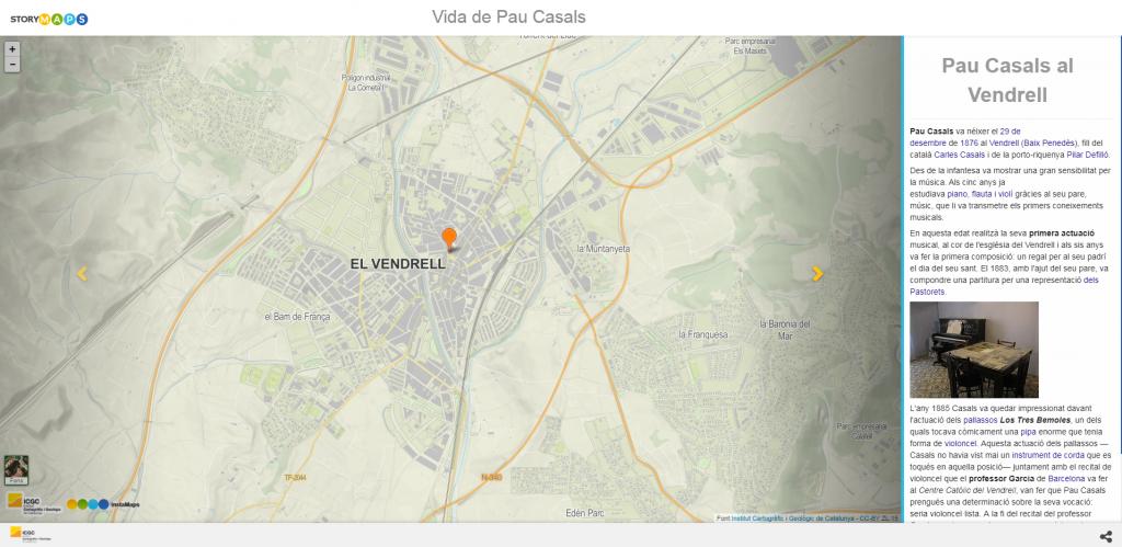 Storymap es una herramienta para crear mapas con datos multimedia