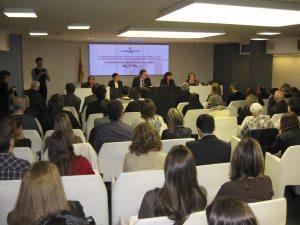 Fotografia reunió del passat 23 de març