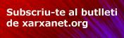 Banner subs. butlletí