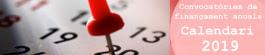 Calendari de convocatòries de finançament anuals