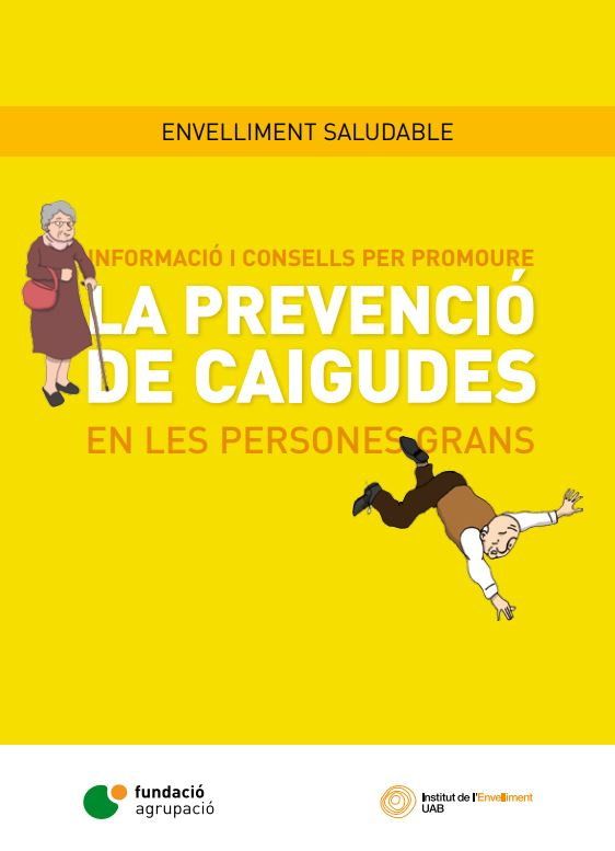 Portada de Informació i consells per promoure la prevenció de caigudes en les persones grans