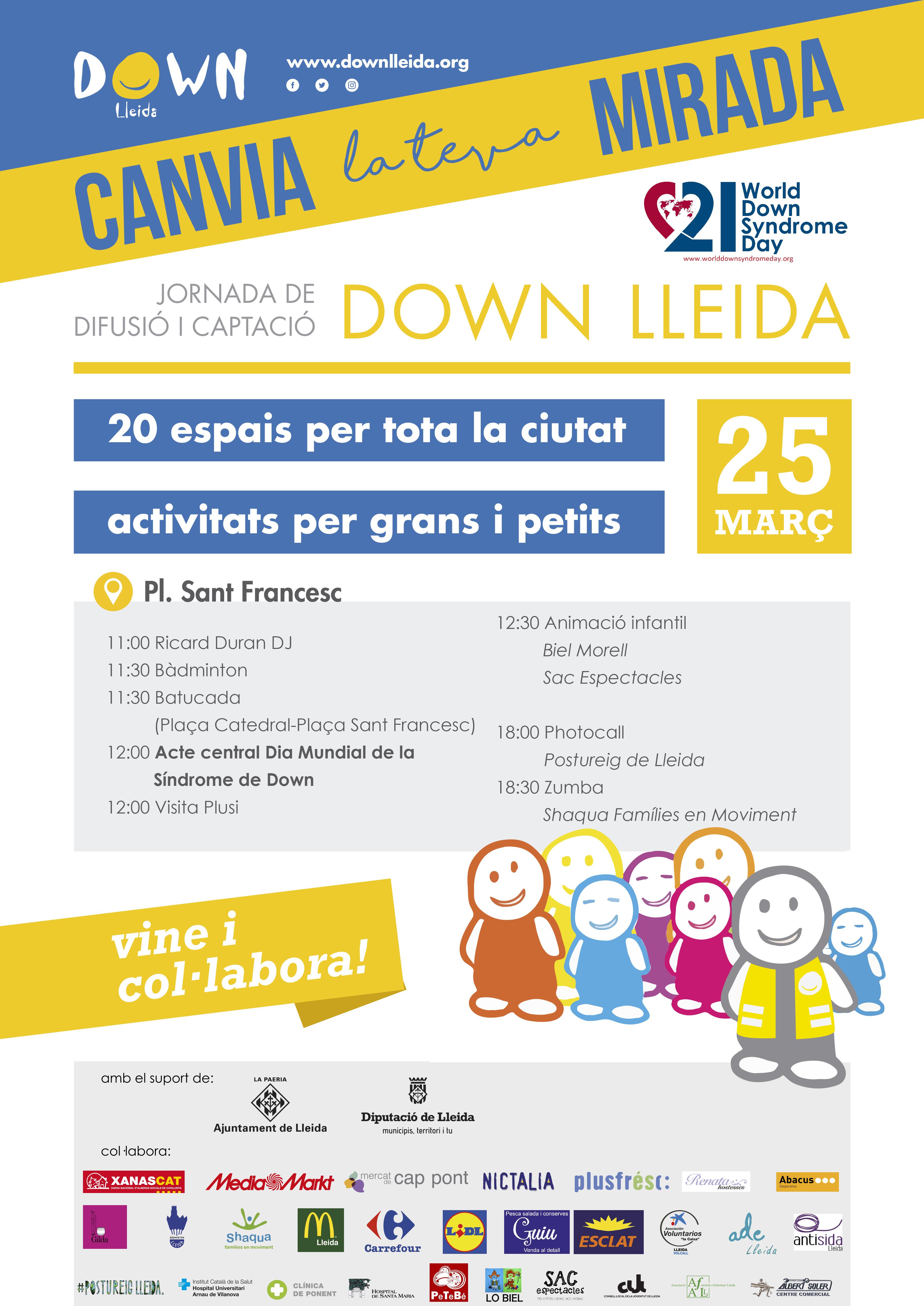 Jornada canvia la teva mirada amb Down Lleida