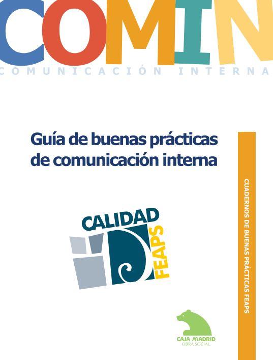 Portada de Guía de buenas prácticas de comunicación interna