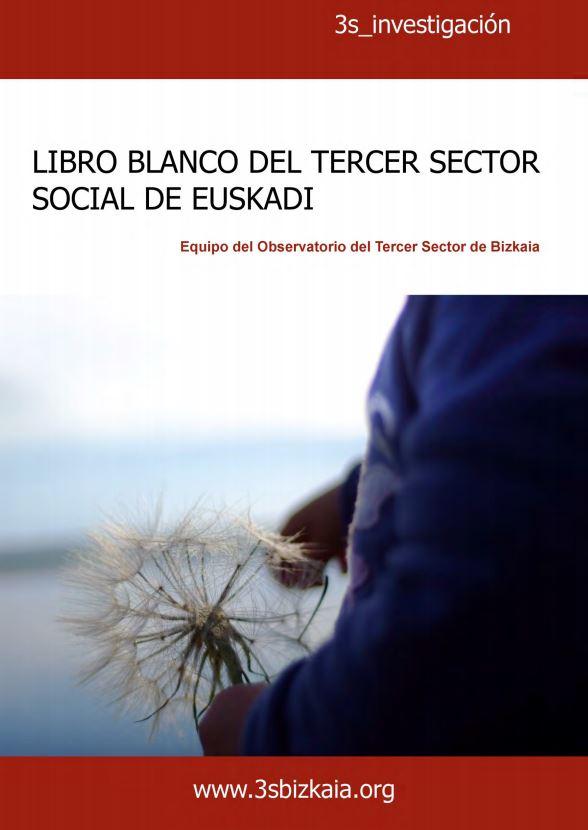 Portada de Libro blanco del tercer sector social de Euskadi