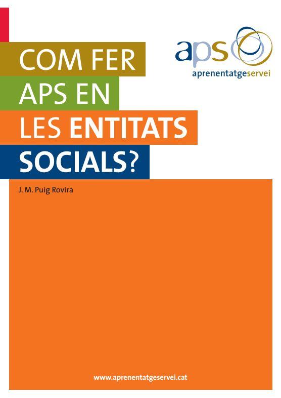 Portada de Com fer APS en les entitats socials?