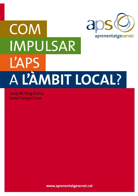 Portada de Com impulsar l'APS a l'àmbit local?