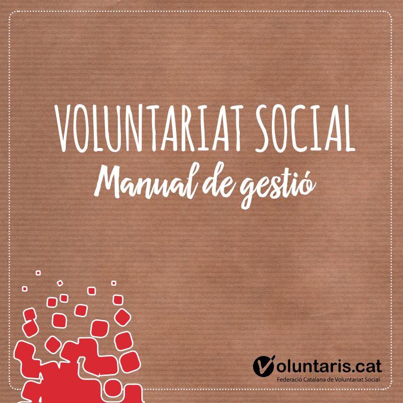 Portada de Voluntariat social: manual de gestió