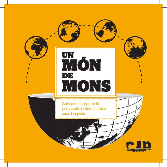 Portada de Un món de mons: guia per incorporar la perspectiva intercultural a caus i esplais