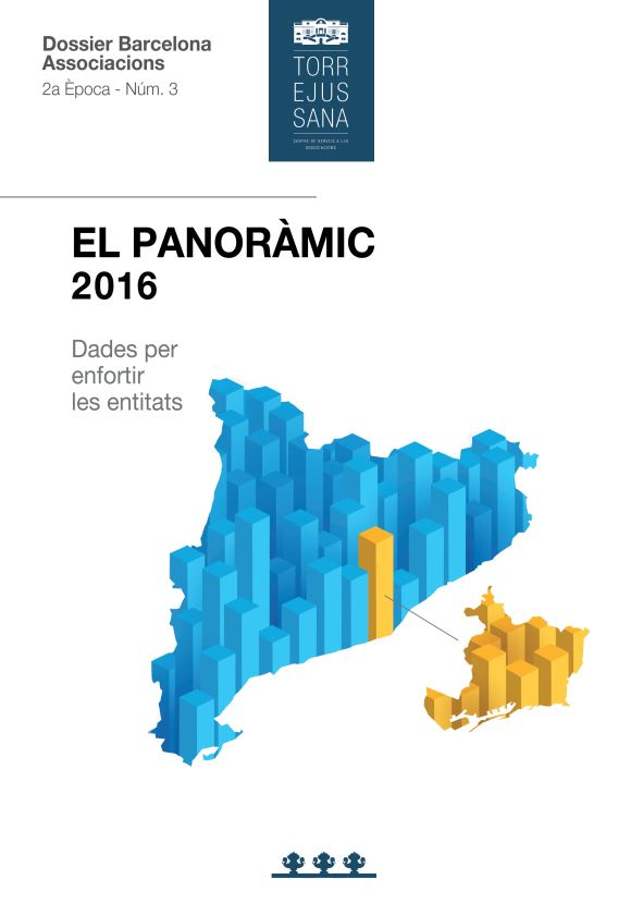 Portada de El Panoràmic 2016: dades per enfortir les entitats
