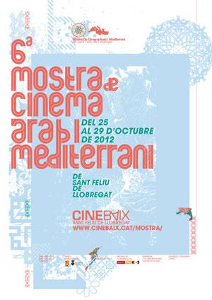 Mostra Cartell Mostra de Cinema Àrab i Mediterrani de Sant Feliu de Llobregat