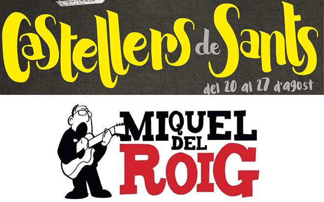 cartell concert Font: Castellers de Sants