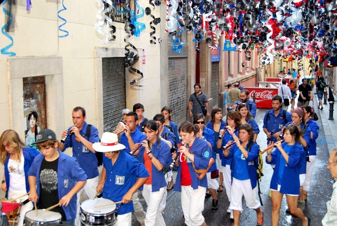 Els castellers de la vila de gr cia s adhereixen a l agenda 21 de la sostenibilitat - Agenda cultura barcelona ...