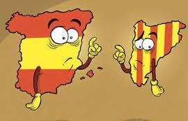 Dibuix Catalunya-Espanya. Font: Bondia.cat