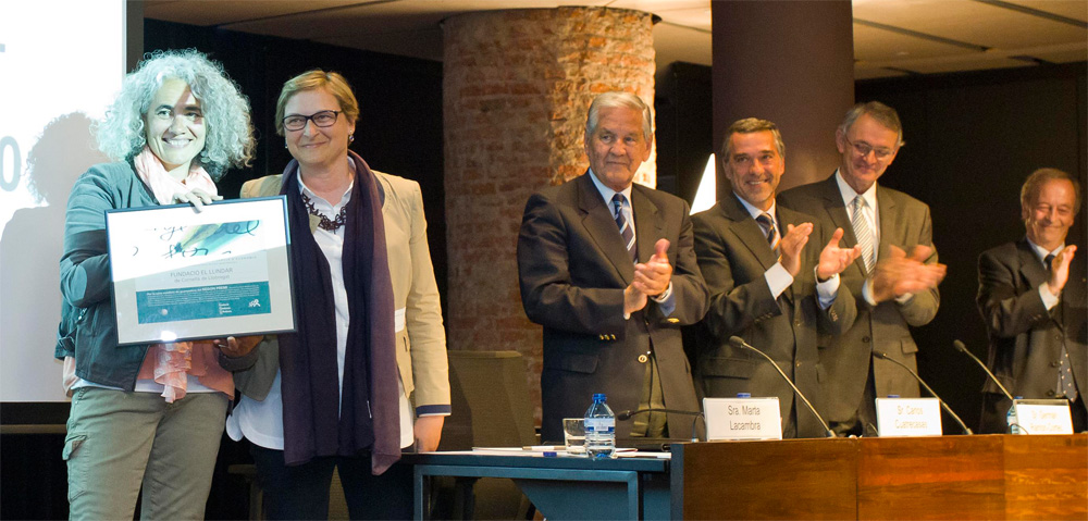 La Fundació El Llindar i l'Institut Tres Turons guanyen el Premi Ensenyament 201