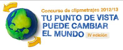 Logotip del concurs El teu punt de vista pot canviar el món