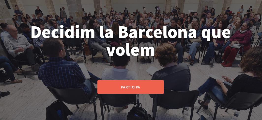 Plataforma para la participación de Barcelona