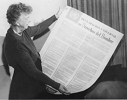 Eleanor Roosevelt i la Declaració Universal dels Drets Humans