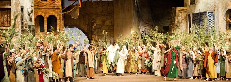 Resultat d'imatges de entrada jesus jerusalem olesa